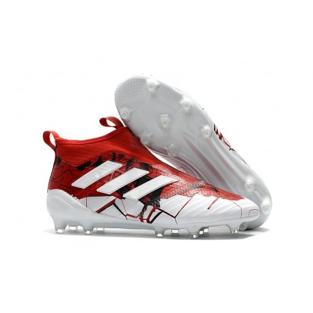 adidas New ACE 17+ Purecontrol FG Football Boots Red White
