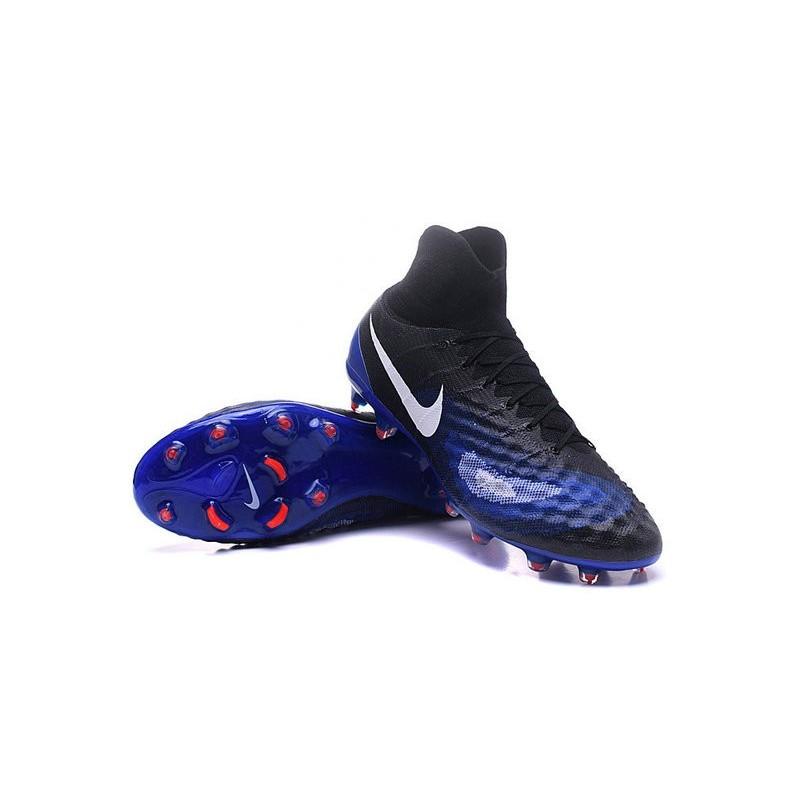 sports shoes 55d6d 8ef93 Nike Top Magista Obra 2 FG ACC Soccer Cleats Blue Black