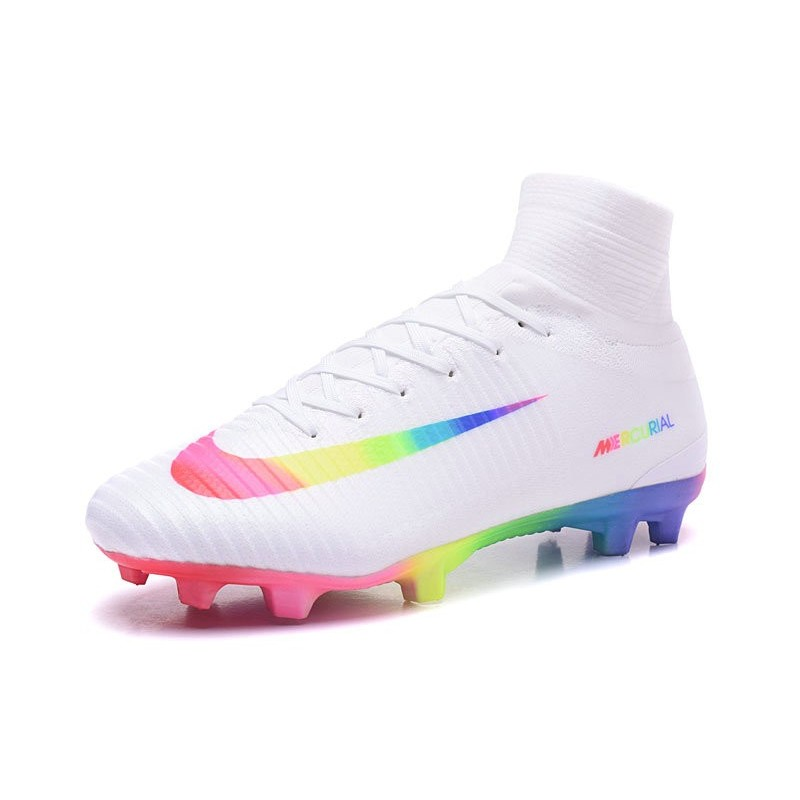 63747dbec Nike Mercurial Superfly 5 FG New Soccer Boots White Colorful Maximize.  Previous. Next