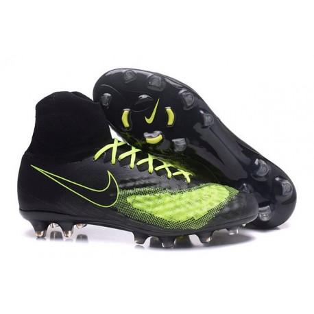 Nike Magista Obra II FG News Soccer Boot Black Green