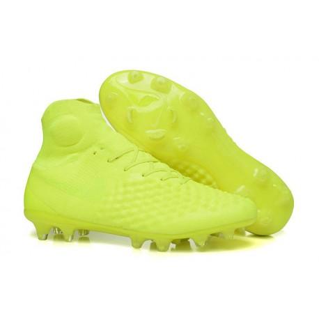 Nike Magista Obra II FG High Top Soccer Boot Volt