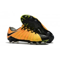 New Nike Hypervenom Phantom 3 Firm Ground Shoes Yellow Black Silver