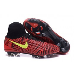 Nike Magista Obra II FG News Soccer Boot Red Black Yellow