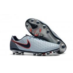 New Nike Magista Opus II FG Soccer Cleat Grey Black