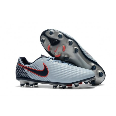 New Nike Magista Opus II FG Soccer Cleat Grey Black