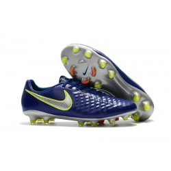 New Nike Magista Opus II FG Soccer Cleat Deep Blue Silver