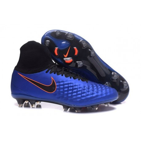 9d030eb9092a Nike Magista Obra II FG News Soccer Boot Blue Black