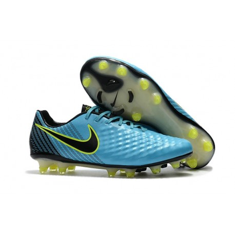 New Nike Magista Opus II FG Soccer Cleat Blue Black