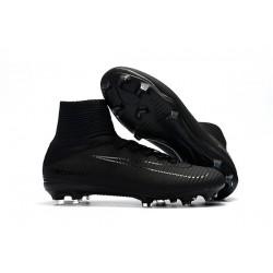 Nike Mercurial Superfly V FG Man Soccer Cleats All Black