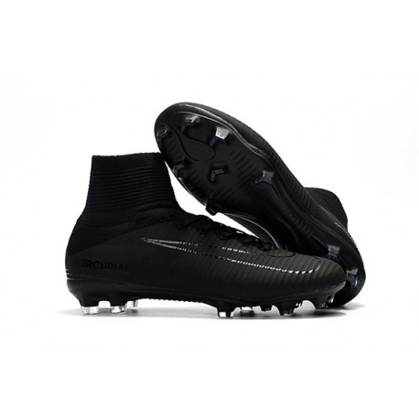 Nike Mercurial Superfly V FG Man Soccer Cleats All Black