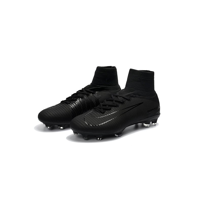 various colors 05ccf cde47 Nike Mercurial Superfly V FG Man Soccer Cleats All Black Maximize.  Previous. Next