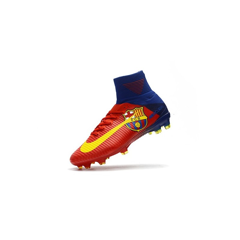 ec45418676f58 Nike Mercurial Superfly V FG Man Soccer Cleats Barcelona Red Yellow  Maximize. Previous. Next