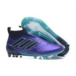 adidas New ACE 17+ Purecontrol FG Football Boots Purple Black