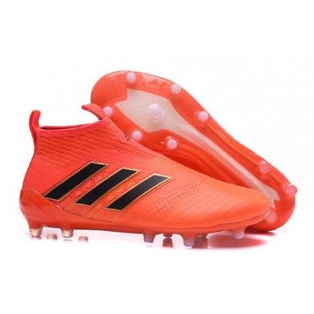 adidas New ACE 17+ Purecontrol FG Football Boots Orange Black