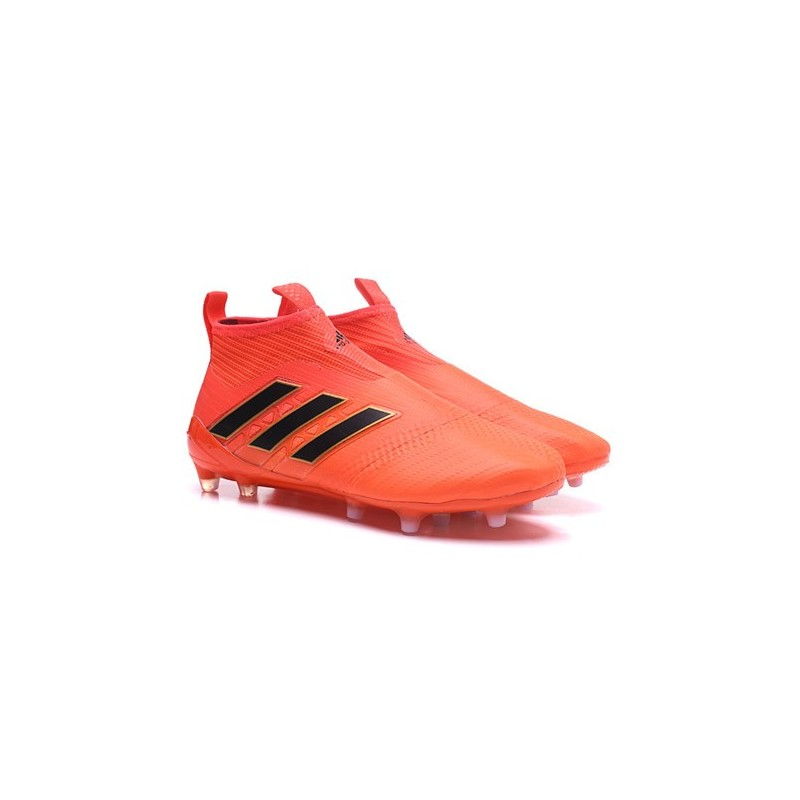 reputable site 012db 6b187 adidas New ACE 17+ Purecontrol FG Football Boots Orange Black Maximize.  Previous. Next
