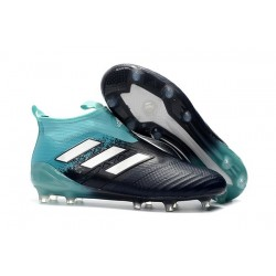 adidas New ACE 17+ Purecontrol FG Football Boots Blue Black White