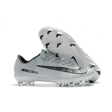 Cristiano Ronaldo Nike Mercurial Vapor 11 CR7 FG ACC New White Black