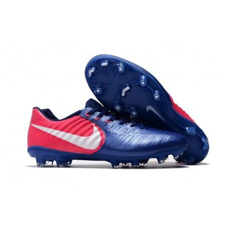 Nike Tiempo Legend VII FG K-Leather News Soccer Cleat - Blue Rose