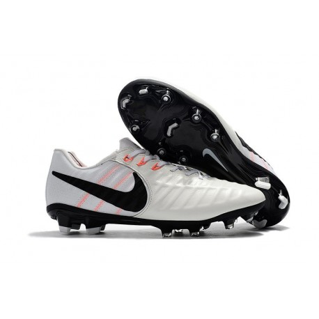 Mens Nike Tiempo Legend 7 FG Football Boot White Black