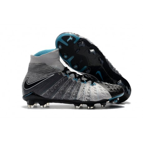 Nike Hypervenom Phantom III FG ACC Boot Grey Black