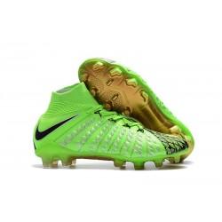 Nike Hypervenom Phantom III FG ACC Boot Green Black