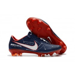 Nike Mercurial Vapor 11 FG ACC New Football Shoes Cyan Red
