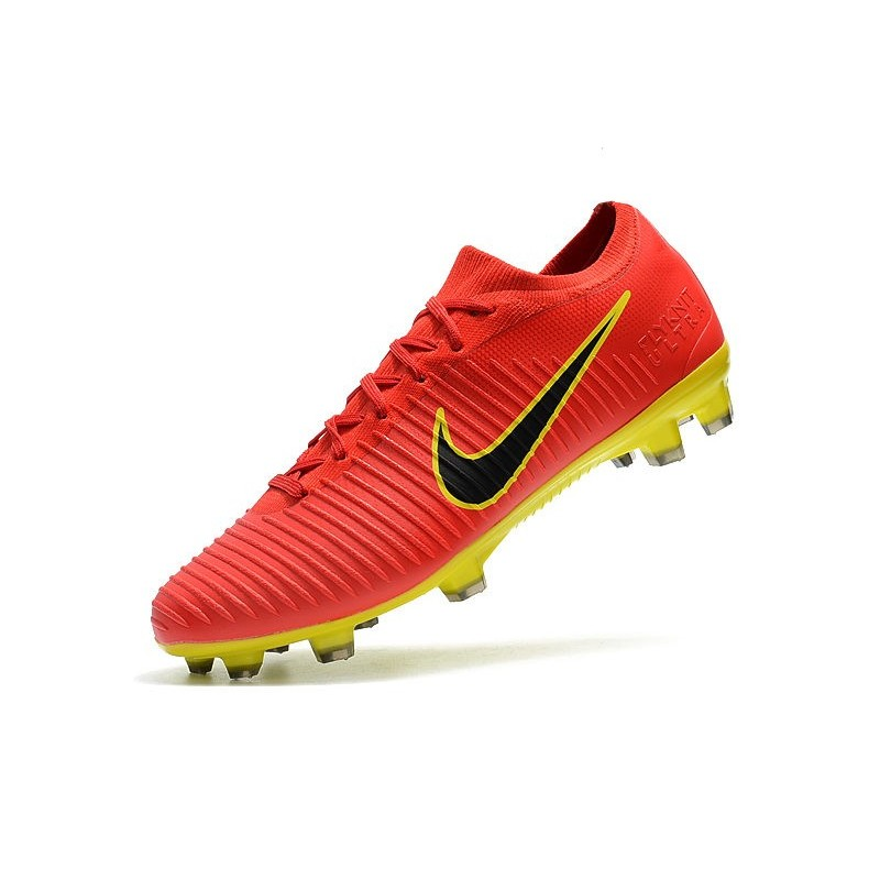 f80d03591f3f Nike Mercurial Vapor Flyknit Ultra FG Firm Ground Boots Red Yellow  Maximize. Previous. Next