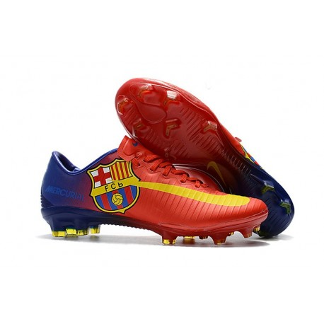 8aec9b81b71 Nike Mercurial Vapor XI FG Firm Ground Barcelona Soccer Cleat -