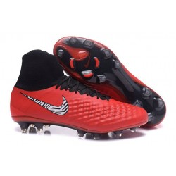 Nike Magista Obra II FG News Soccer Boot Red White