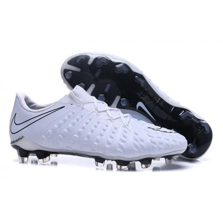 New Nike Hypervenom Phantom III FG New Soccer Boots - All White