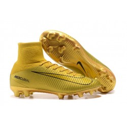 Nike Mercurial Superfly 5 FG Firm Ground Boot - CR7 Golden