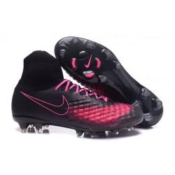 Nike Magista Obra II FG News Soccer Boot Black Pink