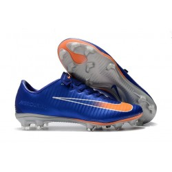 Nike Mercurial Vapor XI FG Firm Ground Soccer Cleat - Blue Orange