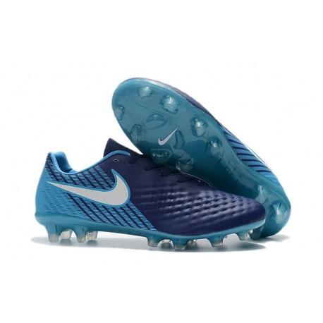 New Nike Magista Opus II FG Soccer Cleat Blue White