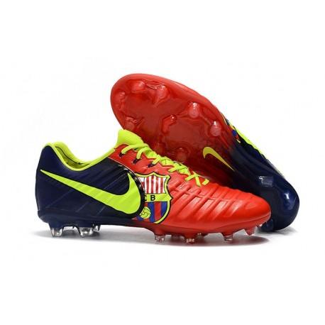 Mens Nike Tiempo Legend 7 FG Football Boot Barcelona
