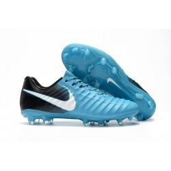 Mens Nike Tiempo Legend 7 FG Football Boot Blue White