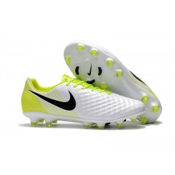 News Nike Magista Opus 2 FG ACC Football Boots White Black Volt