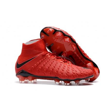 Nike Hypervenom Phantom III FG ACC Boot Red Black