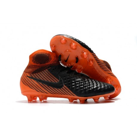 Nike Magista Obra 2 FG Firm Ground Football Shoes - Black Orange
