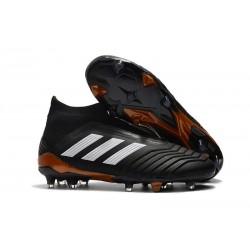 adidas Men's Predator 18+ FG Soccer Boots Black White