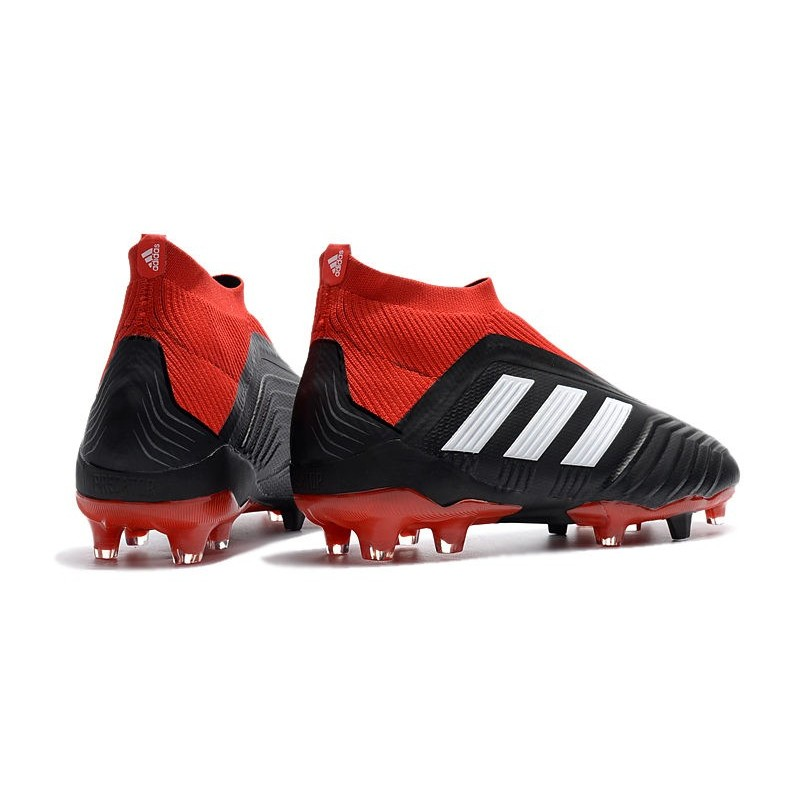 ed4d9f8d1ee adidas Men s Predator 18+ FG Soccer Boots Black Red White Maximize.  Previous. Next