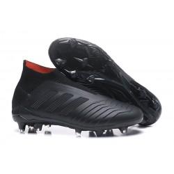 adidas Men's Predator 18+ FG Soccer Boots Full Black