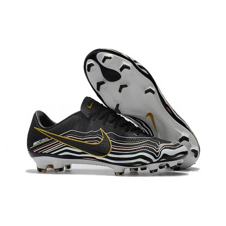 Nike Mercurial Vapor 11 FG ACC Football Shoes - Black Gold