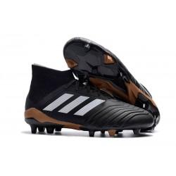 New adidas Predator 18.1 FG Soccer Shoes Black White