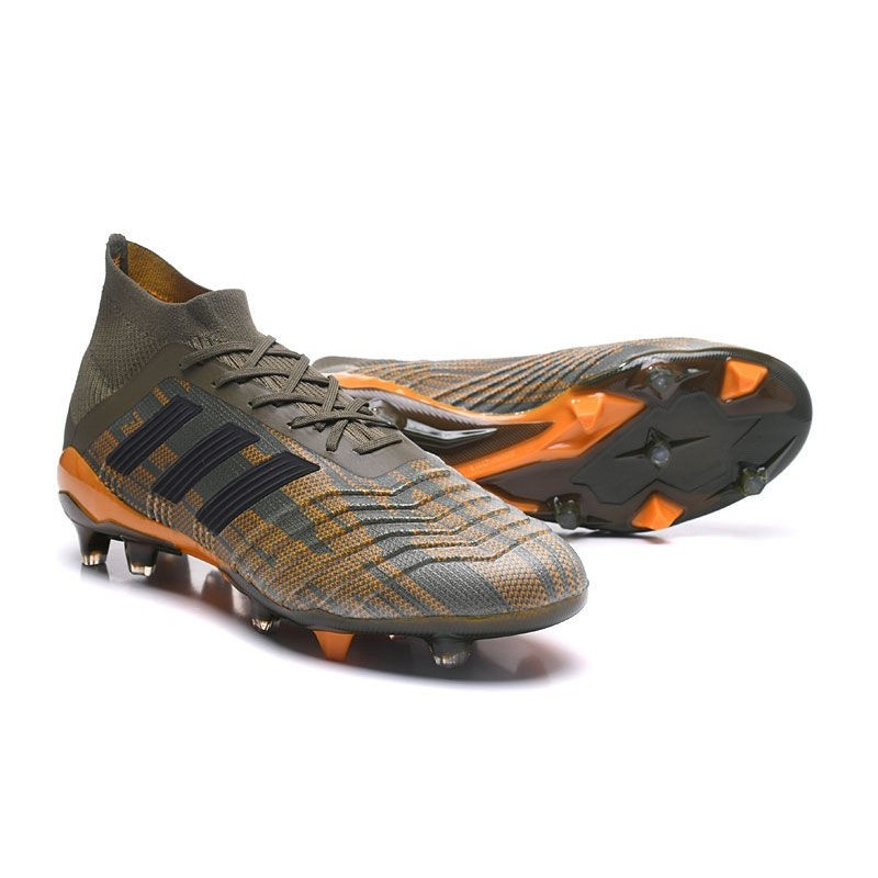8bdaaa1d45c ... netherlands new adidas predator 18.1 fg soccer shoes olive green black  orange maximize. previous.