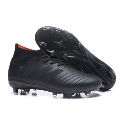 New adidas Predator 18.1 FG Soccer Shoes All Black