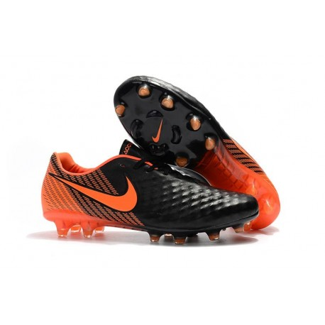 News Nike Magista Opus 2 FG ACC Football Boots Black Orange