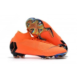 New 2018 Nike Mercurial Superfly VI 360 Elite FG Orange Black