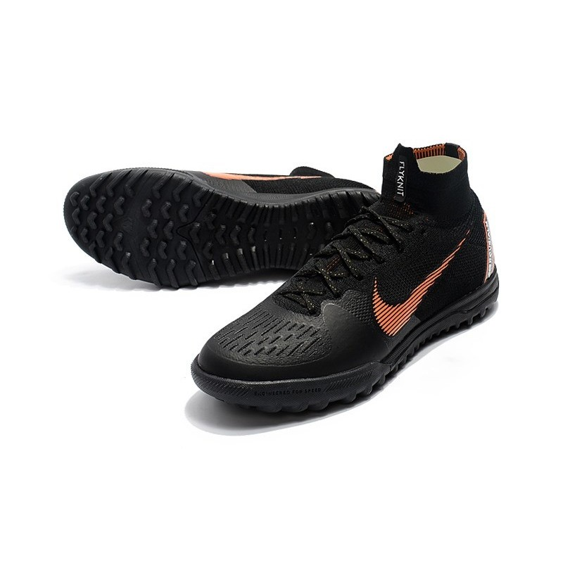 new concept 655c6 9a2fc Nike Mercurial Superfly 6 Elite Turf Boots Black Gold