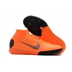 Nike Mercurial SuperflyX 6 Elite IC Futsal Orange Black
